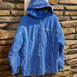 Size 14 Billabong blue weather jacket